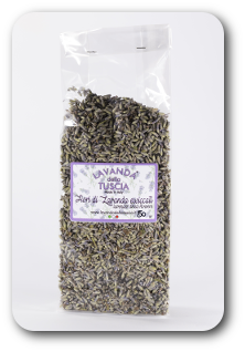 Lavender dried flowers - 50 gr - 4 € per sacchetto