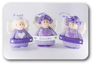 Angels with lavender scent - 8 € per doll